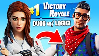 Winning in Duos w/ Logic! (Fortnite, PG-13)