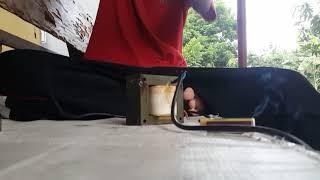 Membuat las mini dengan travo bekas 3A.