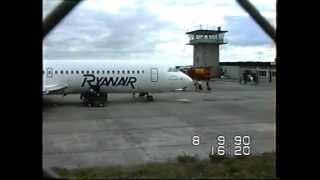 knock airport 1990 ryanair bac 111