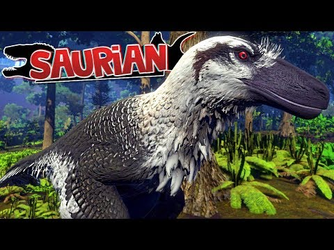 Saurian - Bebê Dakotaraptor, Aprendendo a Caçar, Família Dinossauro! | Dinossauros (#1) (PT-BR)