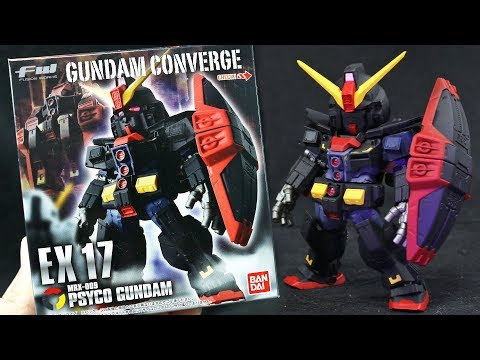 1386 - Converge EX17 Psyco Gundam UNBOXING and Review