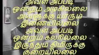 Aval Appadi Ondrum Azhagillai