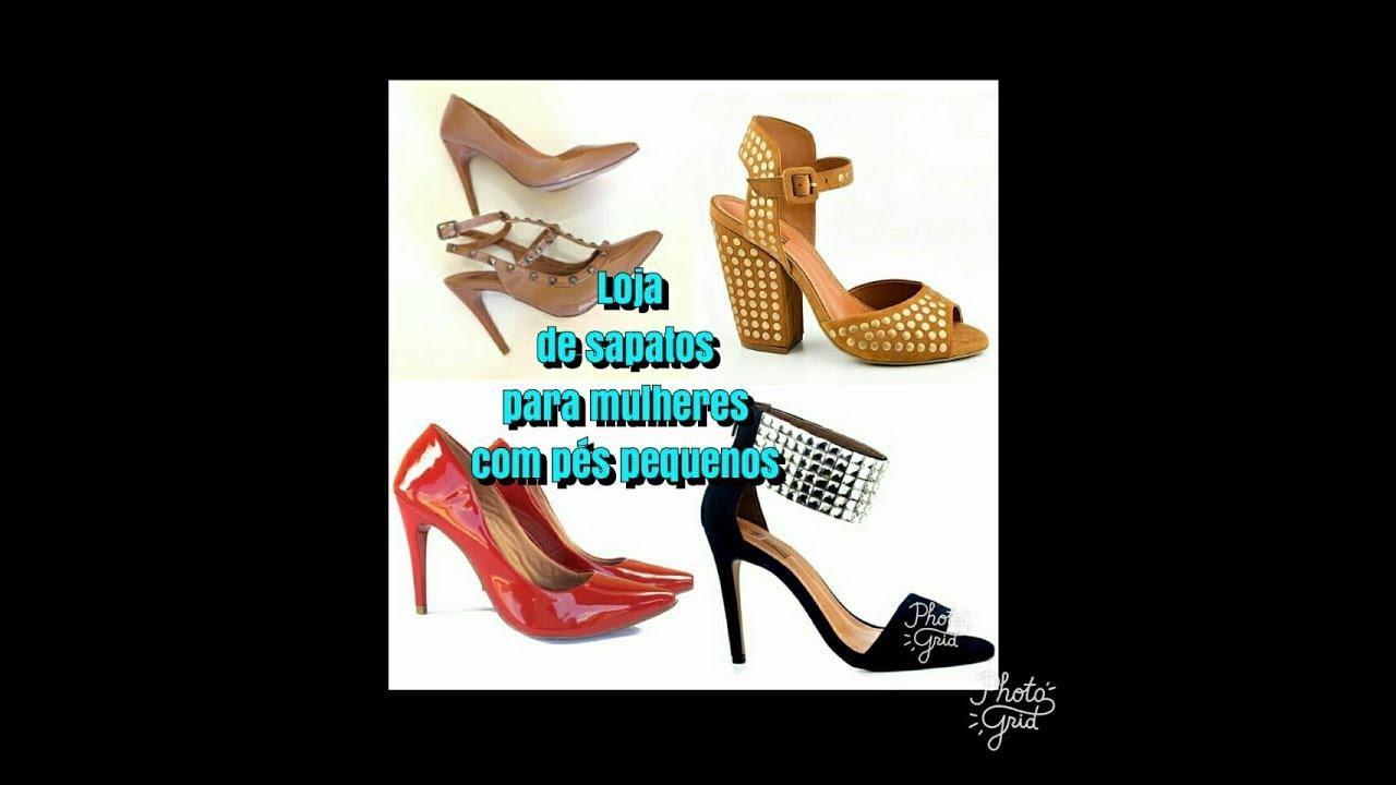 b10f29d49 Sapatos para mulheres com pés pequenos