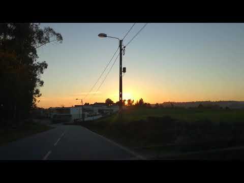 Passando em Gondifelos ao pôr do Sol — Vila Nova de Famalicão — 15 de Março de 2019