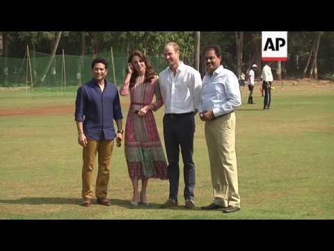 Royals visit Mumbai cricket academy