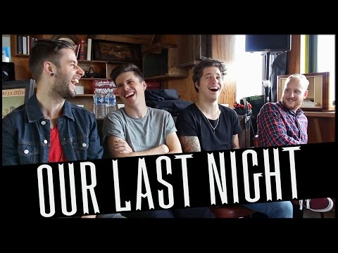 Interview OUR LAST NIGHT - Paris 2015 ( french subtitles )