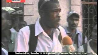 HAITI ELECTION NOV 28 - PEOPLE GOING TO VOTE PART # 3