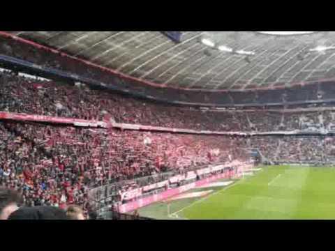 Bayern Munich match at Allianz Arena 1