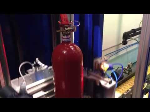 filling-process-of-co2-fire-extinguisher-cylinders