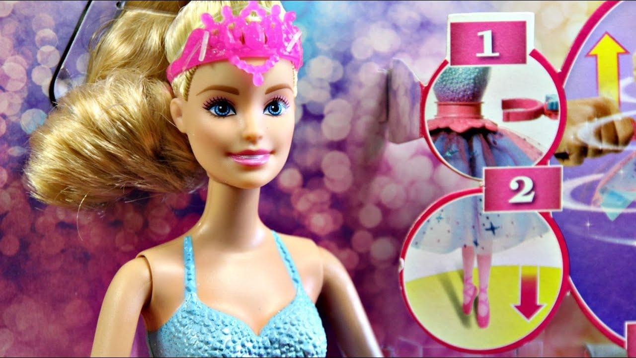 9cb33814af4c Barbie Dance   Spin Ballerina Doll - Mattel - CKB21 - Review - YouTube