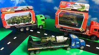 Мультик Про Військові Машини! Огляд Танка для Дітей! Toy Tank For Kids! Cartoons for kids