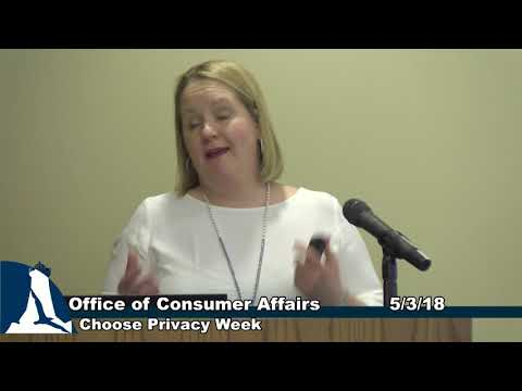 Office of Consumer Affairs - Provacy Week