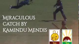 Miraculous catch by Kamindu Mendis