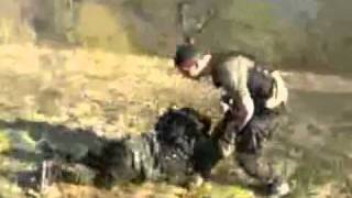 Repeat youtube video Combate Cuerpo a Cuerpo Tacticas de lucha Militar