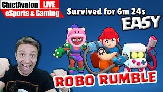 Brawl Stars Robo Rumble - 6 MINUTES IS EASY