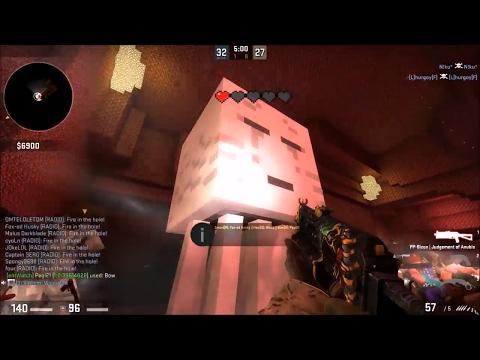 CS:GO - Zombie Escape Mod - ze_minecraft_adventure_v1_3d (Level 1-2) GFL Server
