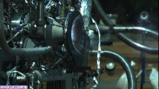 NASA Engineers Test Combustion Chamber to Advance 3-D Printed Rocket Engine Design