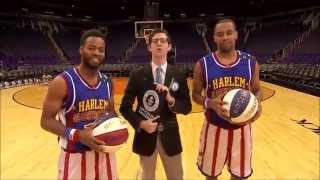 World Record for Three Pointers by a Pair in a Minute! | Harlem Globetrotters