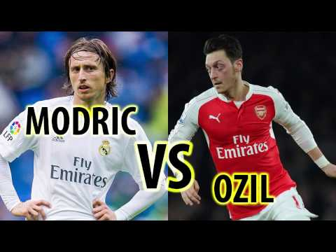 Luka Modrić VS Mesut Özil All Goals & Highlights