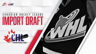 How The CHL Import Draft Works