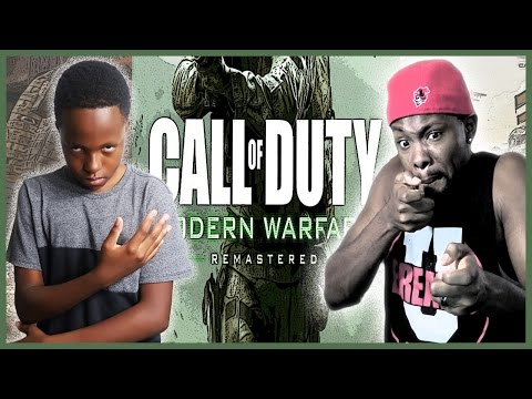TRENT VS MAV CALL OF DUTY MODERN WARFARE REMASTERED!!