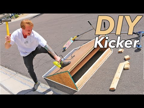 How to Make a $70 DIY Kicker Ramp for Beginners in 2 Hours