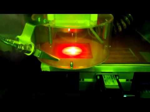 Laser Milling Machine at Adelaide University