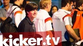 So sehen Sieger aus - DFB-Elf umjubelt - kicker.tv