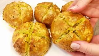 Необычный Рецепт На Кипятке Вместо Хлеба к ЗАВТРАКУ