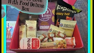 "Love With Food June 2015 Deluxe Box ""Saturday in the Park"""