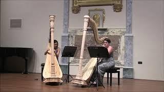 Parvis, Bernard Andres harp duo Lilac 94