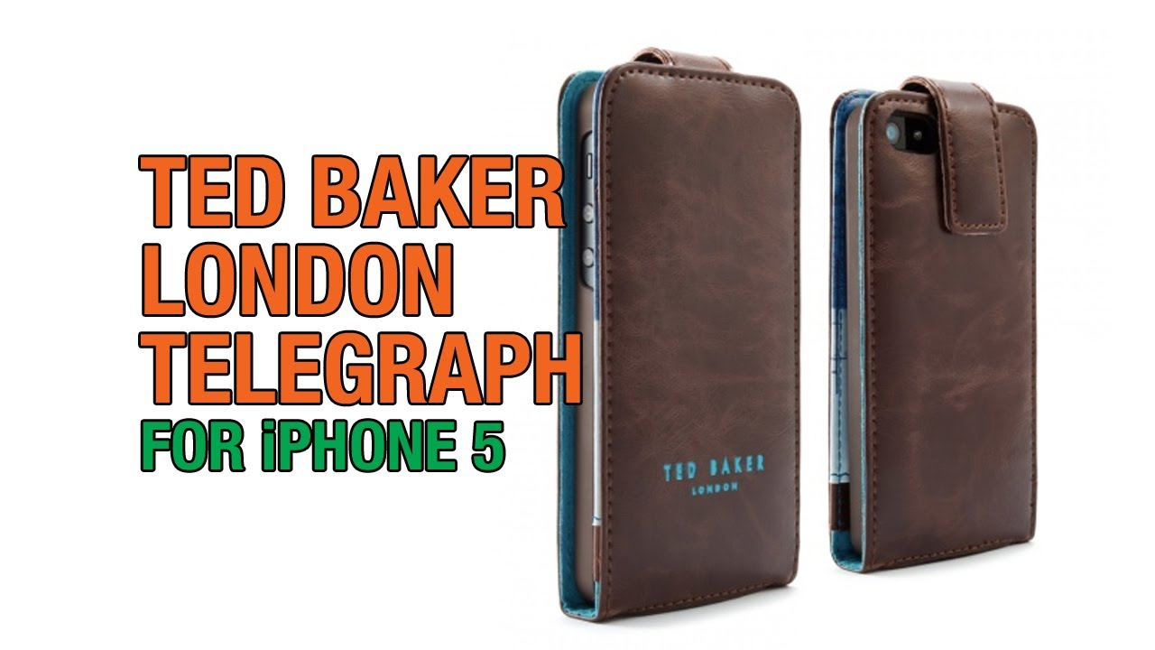 reputable site a0627 044ea Ted Baker London Case Review for iPhone 5