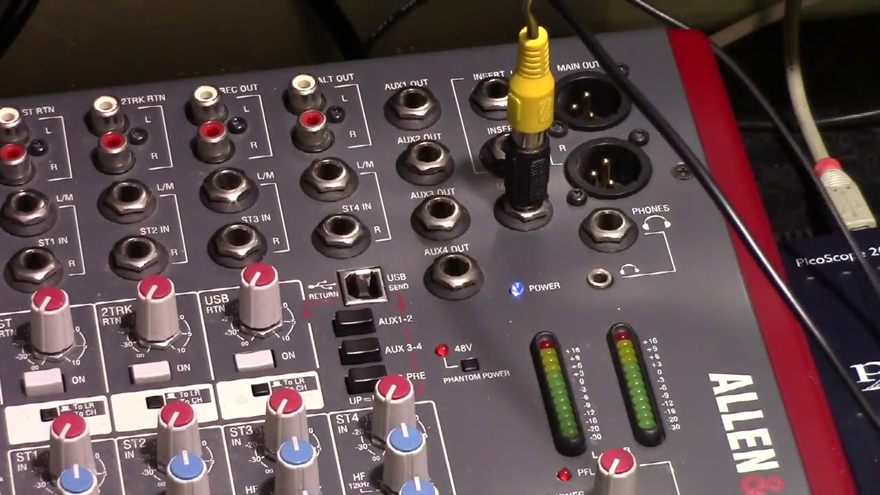 allen heath zed 24 repair part 4 fix reassembly and test youtube. Black Bedroom Furniture Sets. Home Design Ideas