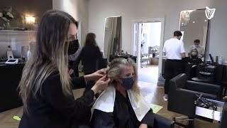 Dublin salon: We're seeing 2000 customers per week since re-opening