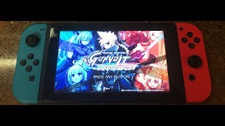 Azure Striker Gunvolt Striker Pack Nintendo Switch Unboxing
