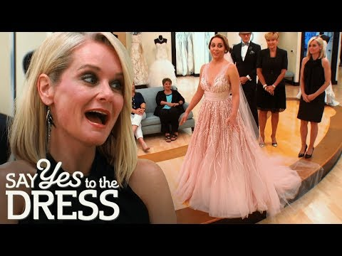 Will the Conservative Mother in Law Like the Pink Wedding Dress? | Say Yes To The Dress Atlanta