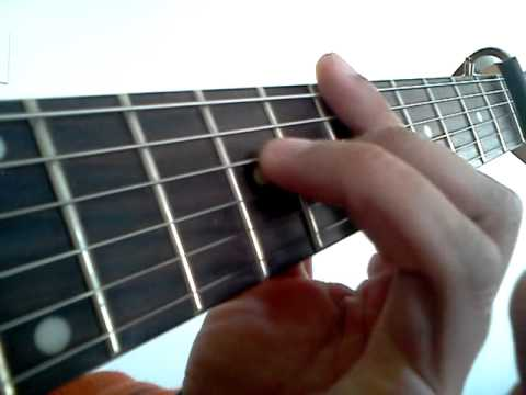 Ebmaj7 Guitar Chord Youtube