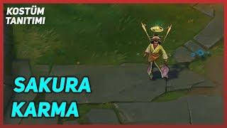 Sakura Karma (Skin Preview) League of Legends