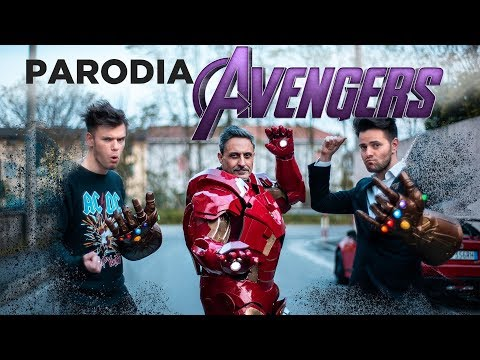 PARODIA AVENGERS ENDGAME(No Spoiler) -  iPantellas