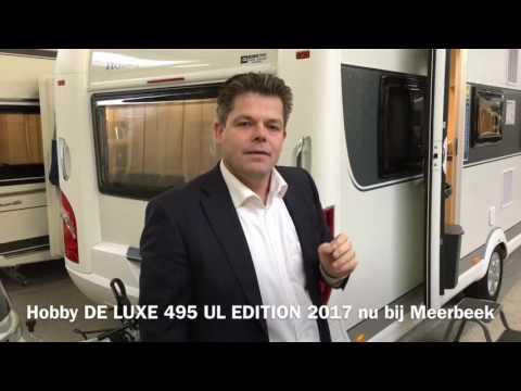 Reviews Hobby De Luxe 495 UL Edition 2017 te koop Meerbeek Caravans & Campers Doetinchem