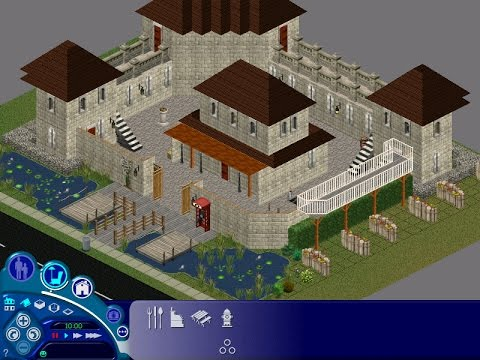 The Sims: Speed Build | Renaissance style Fortress
