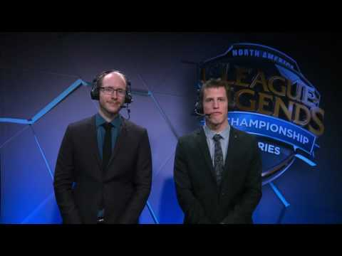 Interview with the winner of P1 vs NV + analyst desk - W2D2 S7 NA LCS Spring 2017!
