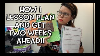 Скачать How I Lesson Plan And Get TWO WEEKS Ahead