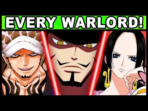 All 11 Warlords and Their Powers Explained! (One Piece Every Shichibukai)