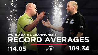 RECORD-BREAKING AVERAGES! Van Barneveld v Van Gerwen | 2017 World Darts Championship