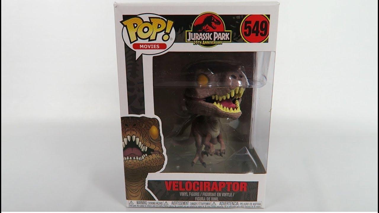 Velociraptor Funko POP 549 Jurassic Park
