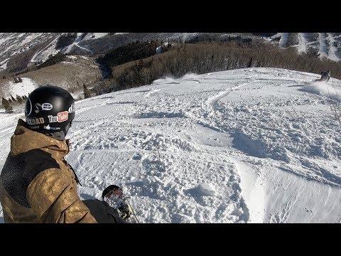 Snowboarding Powder At Park City Utah - (Season 3, Day 61)