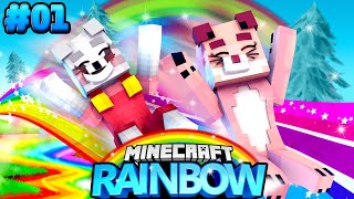 ISY & RONJA IN DER REGENBOGEN WELT! ✿ Minecraft RAINBOW #01 [Deutsch/HD]