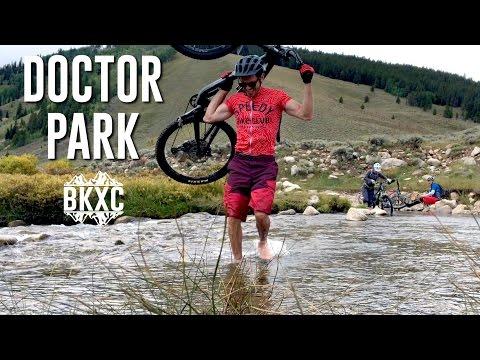 Mountain biking Doctor Park near Crested Butte, Colorado
