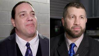 أبيس في أول مقابلة معه كجزء من WWE - في الحلبة